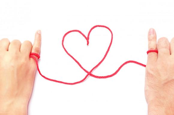 小指に赤い糸